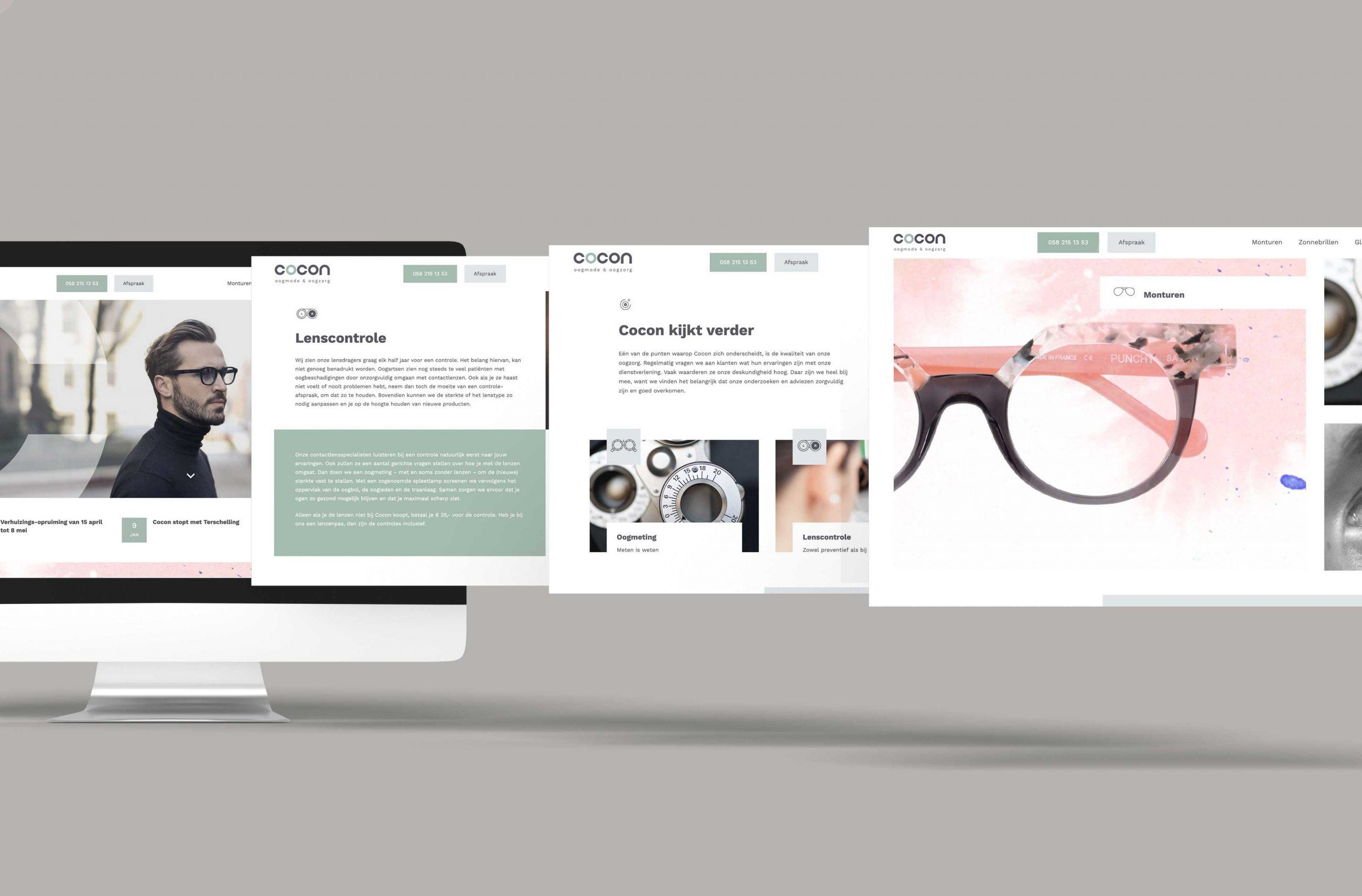 webdesign desktop cocon