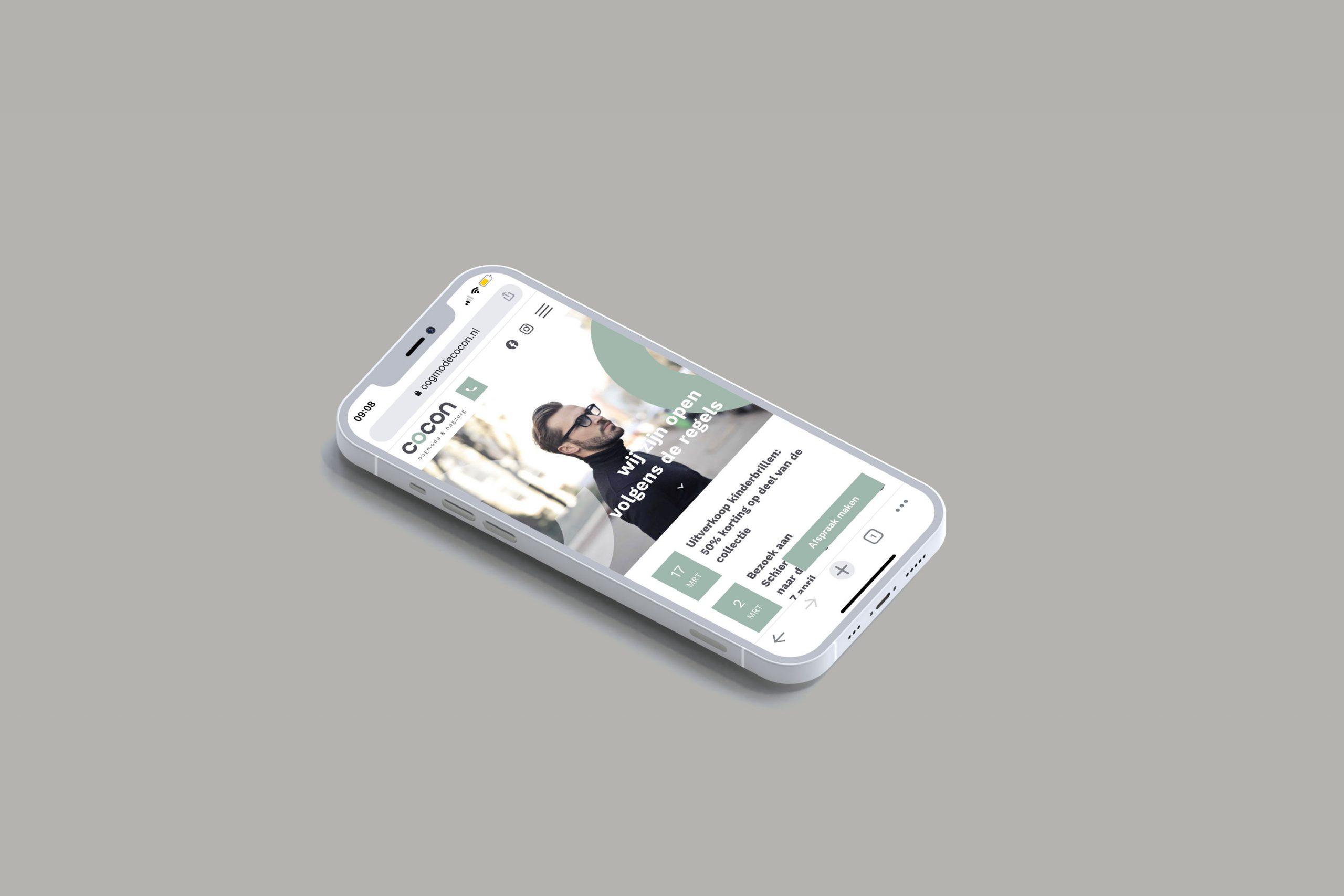 webdesign mobile cocon