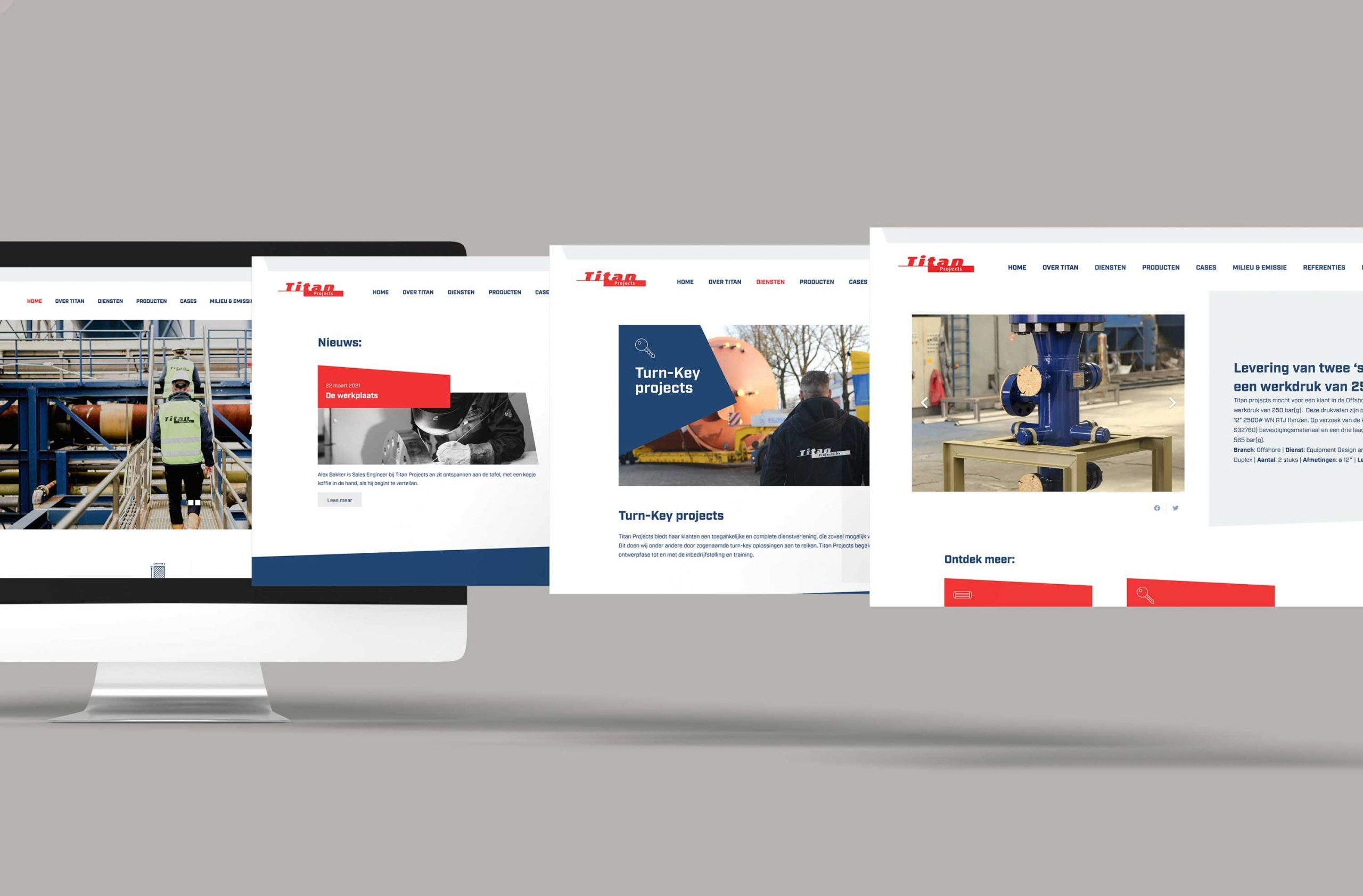 desktop webdesign