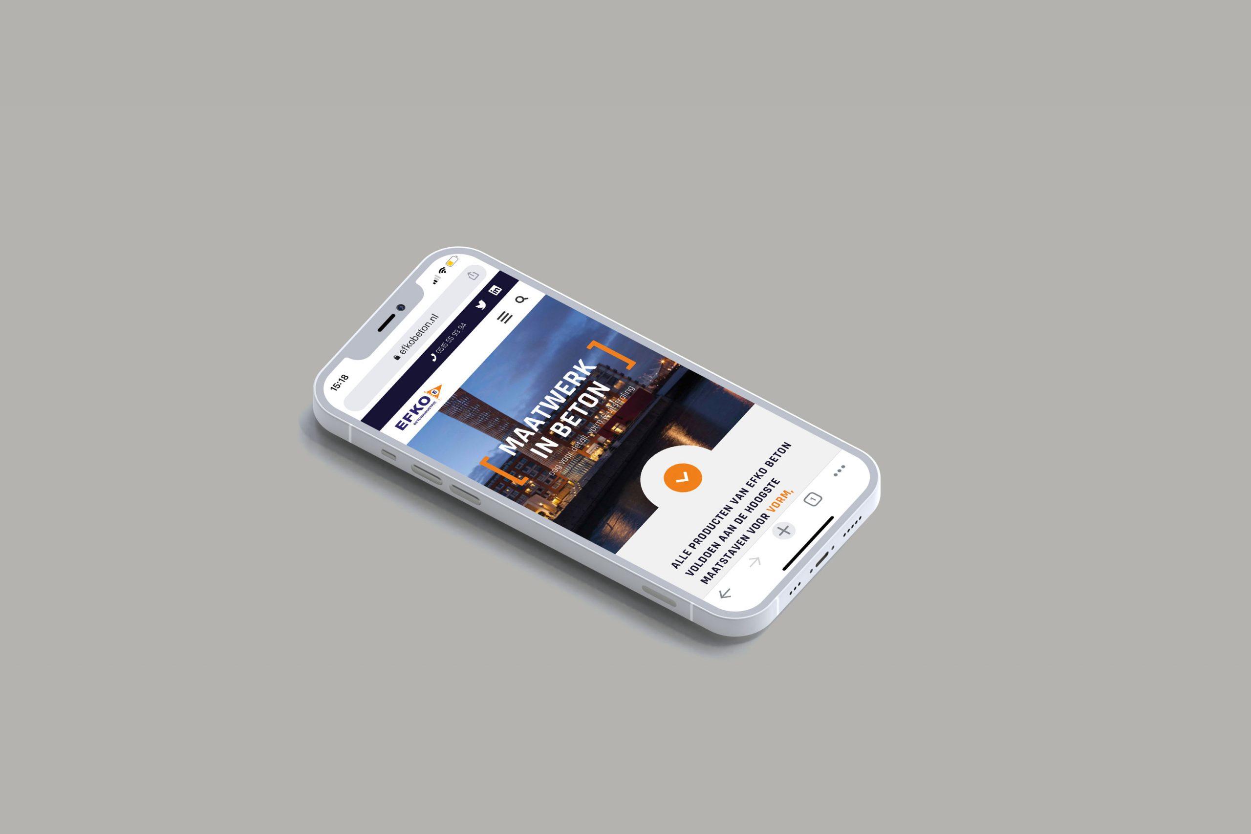 webdesign mobile efko