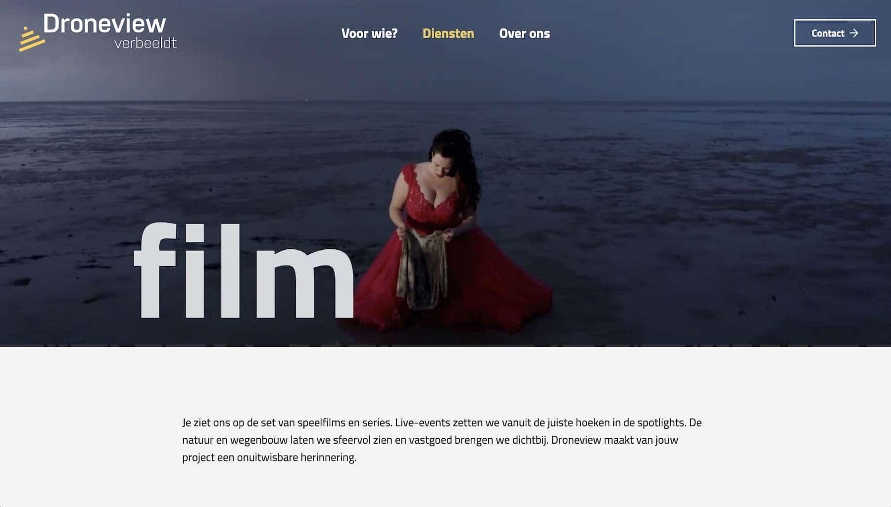 videoheader webdesign